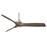 Minka Aire Aviation LED F853L-BN/AMP - Brushed Nickel/Ash Maple