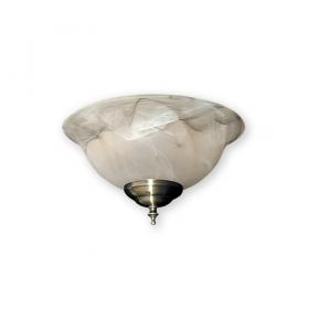 FL-131 Fan Light Kit - Antique Brass Shown