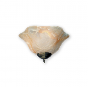 FL-142 Fan Light Kit - Antique Brass Shown