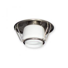 FL-151 Outdoor Ceiling Fan Light - Brushed Steel Finish