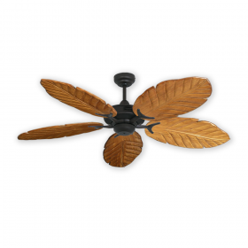 Coastal Air Ceiling FAn - Arbor 125 - Oil Rubbed Bronze / Oak