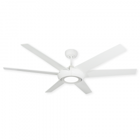 "60"" TroposAir Elegant II w/ LED Light - Pure White"