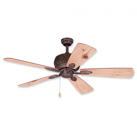 """Vaxcel Alpine 52"""" Outdoor Ceiling Fan Weathered Patina"""