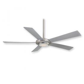 "Minka Aire Sabot F745-BN - LED - 52"" Ceiling Fan Brushed Nickel"