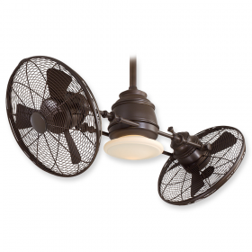 "Minka Aire Vintage Gyro F802-ORB - 42"" Dual Motor Ceiling Fan Oil Rubbed Bronze"