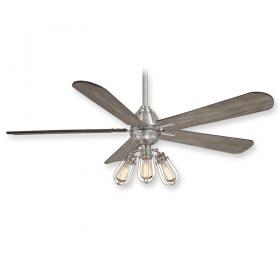 "Minka Aire Alva F852L-BN - LED - 56"" Ceiling Fan Brushed Nickel"