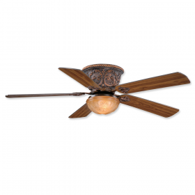 """52"""" Vaxcel Corazon Aged Bronze Finish with Walnut / Rosewood Reversible Blades and Light Kit"""