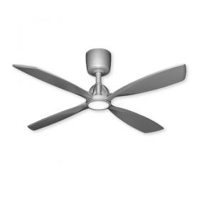 """56"""" TroposAir Ninja Ceiling Fan - Brushed Nickel"""