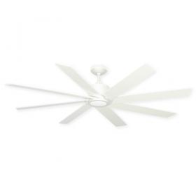 "60"" TroposAir Northstar Ceiling Fan - Pure White"