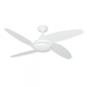 "52"" TroposAir Tuscan Ceiling Fan - Pure White"