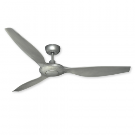 "60"" Vogue Ceiling Fan - Brushed Nickel"